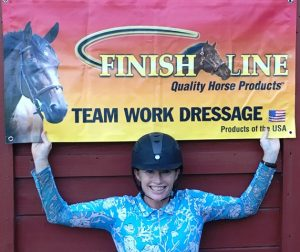 Teamwork Dressage and Teamwork Dressage Proudly Sponsored by Finish Line